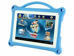 "7"" Tablet with Silicone Case - Blue"