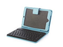 Bluetooth Keyboard iPad mini Folio -Blue