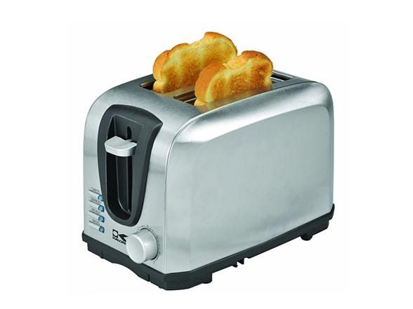 Led Light Toaster ~ Stainless steel slice toaster
