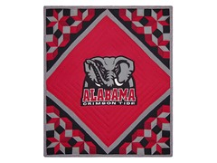 University of Alabama Quilted Throw B