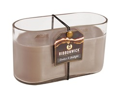 Ribbonwick Amber & Firelight Med Oval