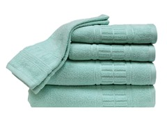 Zero-Twist Quick Dry 6Pc Set-Sea Foam