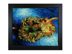 Van Gogh - Two Cut Sunflowers
