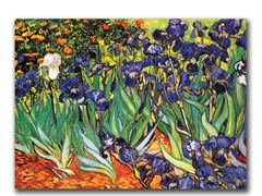 Van Gogh Irises at Saint-Remy (2 Sizes)