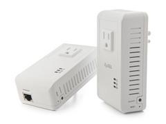 ZyXEL 500Mbps Gigabit Powerline Adapters