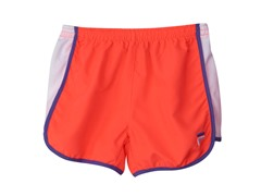 Girls Solid Primo Short - Fiery Coral
