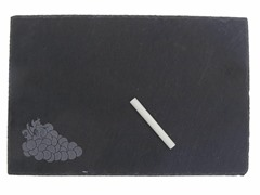Thirstystone Etched Slate Cheeseboard with Chalk