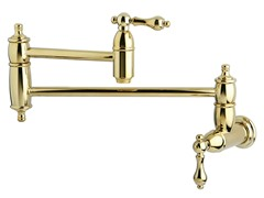 Restoration Pot Filler, Brass