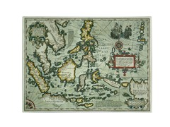 Map of the East Indies 1635' Canvas Art- 2 Sizes