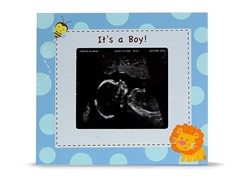 Sonogram Frame - Blue