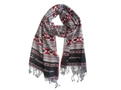 2-Pack Red Fever Print Scarves