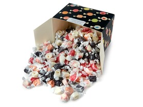 Candy Basket 3lb Salt Water Taffy Assortment