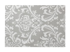 Large Damask Placemat S/4-Gray
