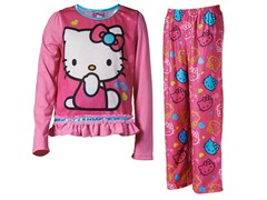 Hello Kitty Pink 2-Pc Set (4-10)