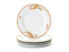 Rachael Ray Paisley Dinner Plates 4-Pc