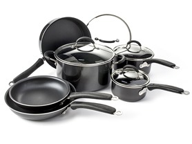 Cuisinart 10Pc Aluminum NonStick Cookware Set