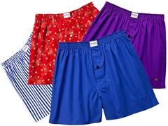 Kings Underwear Boxers 4-Pack Multi Color