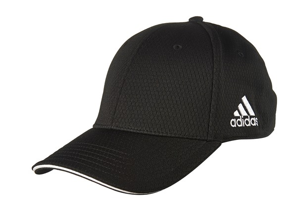 adidas adiTour Flex Fit Hat -Black (S M) 812b9231f5c