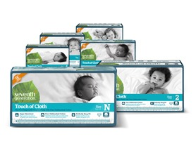 Seventh Generation Touch Of Cloth Diapers