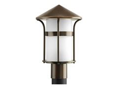 1-Light Post Lantern, Antique Bronze