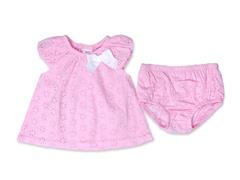Kyle & Deena 2-Pc Pink Eyelet Dress