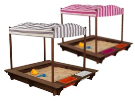 KidKraft Outdoor Sandbox with Canopy, 2 Colors