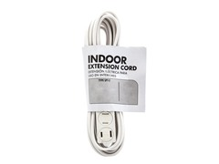 12Ft. 16/2 White Cube Tap Extension Cord