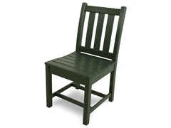 Traditional Garden Dining Chair, Green