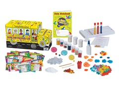 Magic School Bus Slime and Polymer Lab