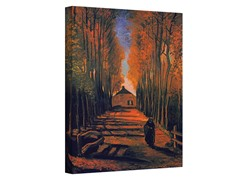 Avenue of Poplars - 2 Sizes