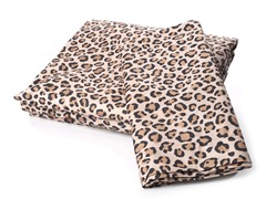 Microfiber Flannel Set -Leopard-4 Sizes