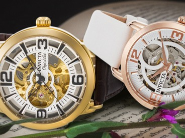 Men's and Women's Invicta Watches
