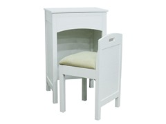 2-Piece Vanity Set White
