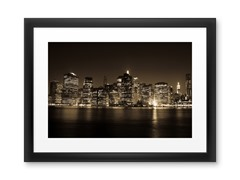 New York City: Downtown (2 Sizes)