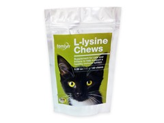 Tomlyn L-Lysine Chews - 120-Count