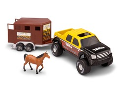 Off Road Hauler with Horse Trailer