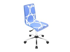 Lumisource Printed Blue Circles Office Chair