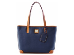 Pebble Grain Charleston Shopper, Marine