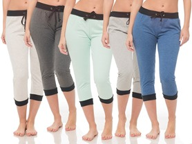 COCO LIMON E179 Women's Joggers (5-Pack)