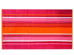 450GSM 36x70 Warm Elle Stripe Towel