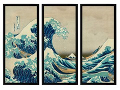 Hokusai The Great Wave (2-Sizes)