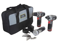 12-Volt Li-Ion Drill Kit