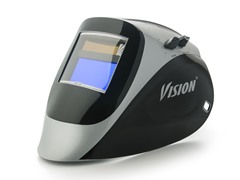Vision Black/Silver with 5000V Filter Welding Helmet