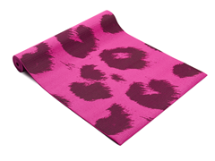 Fitness Basics Purple Leopard Yoga Mat