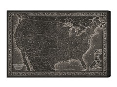 United States Map 1864 (4 Sizes)