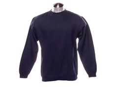 Crew-Neck Sweatshirt - Navy