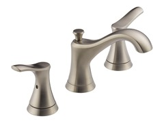 Widespread Lavatory Faucet, Nickel