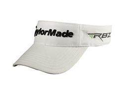 TaylorMade Radar Velcro Tour Visor-White