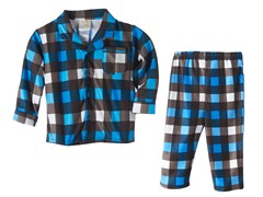 Absorba 2 Piece PJ's - Plaid