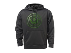 Grey w/ Round Green Logo